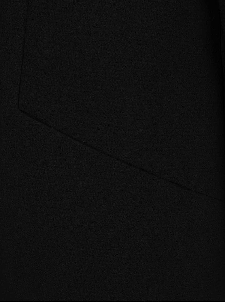Černý lehký kabát ONLY Lina