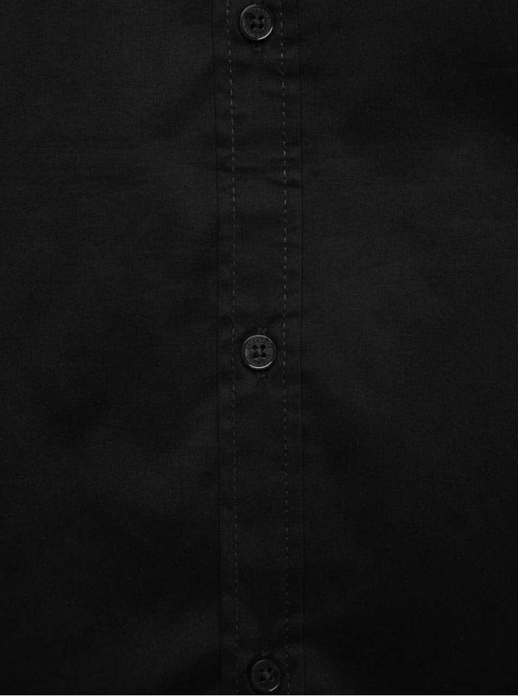 Černá extra slim fit košile Only & Sons Alejandro