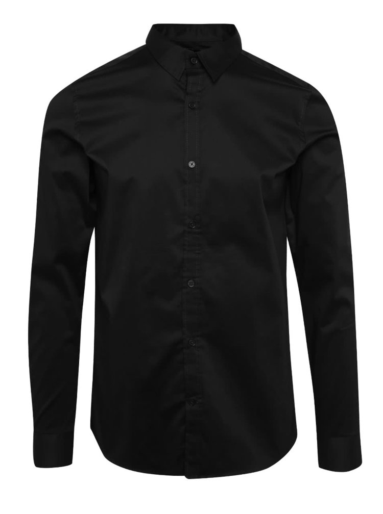 Camasa neagra ONLY & SONS Alejandro slim fit