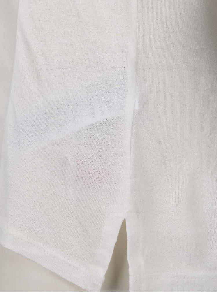 Tricou crem ONLY Storry As Sample cu imprimeu
