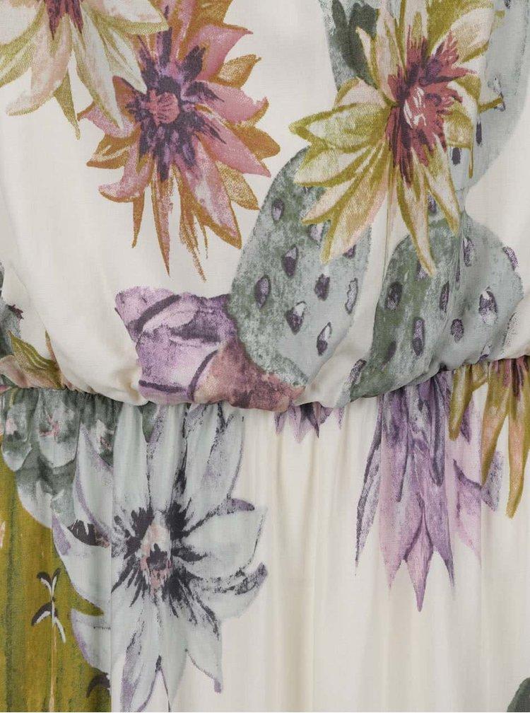 Rochie crem ONLY Nova cu imprimeu floral