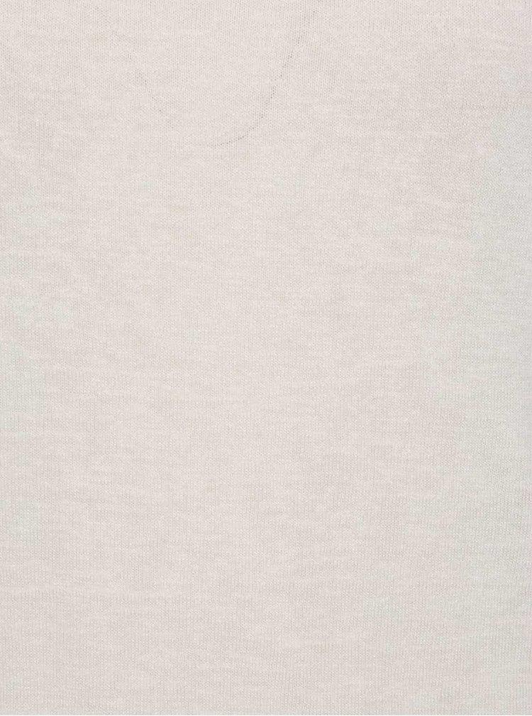 Krémový top bez rukávů s krajkou na zádech Haily´s Cami Farah