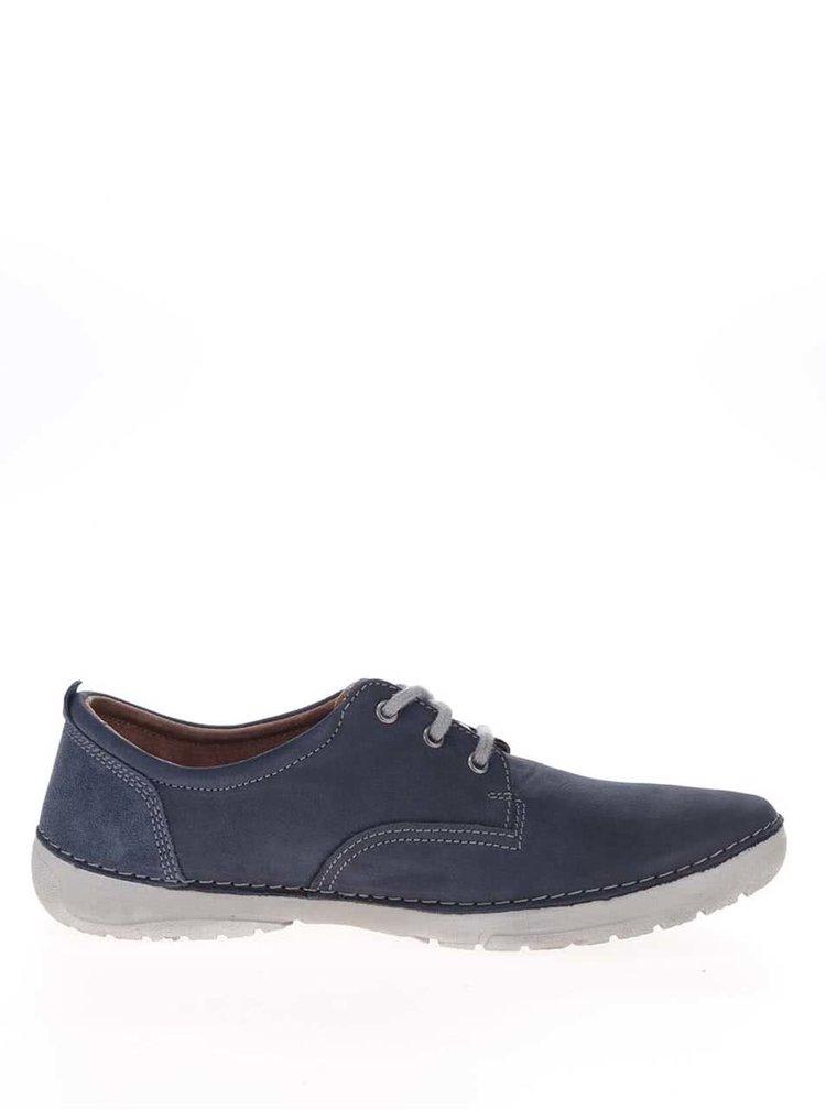 Pantofi casual bleumarin din piele Weinbrenner pentru bărbați