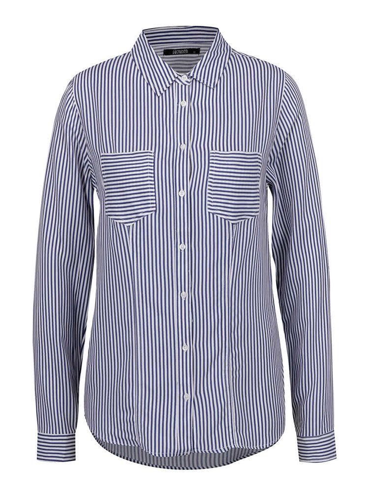Bílo-modrá pruhovaná košile Haily´s Alexa