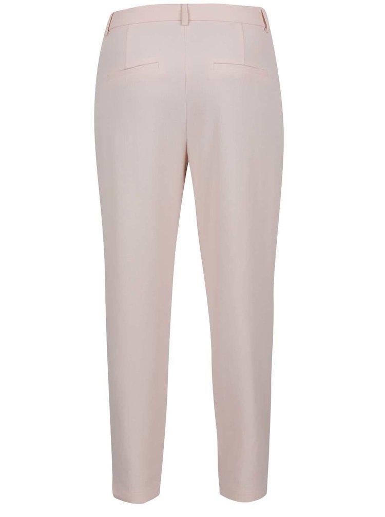 Světle růžové kalhoty VILA Fera