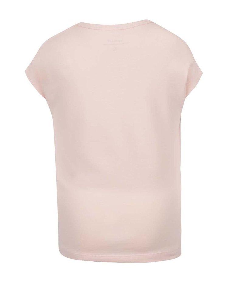 Tricou roz Name It Kali pentru fete