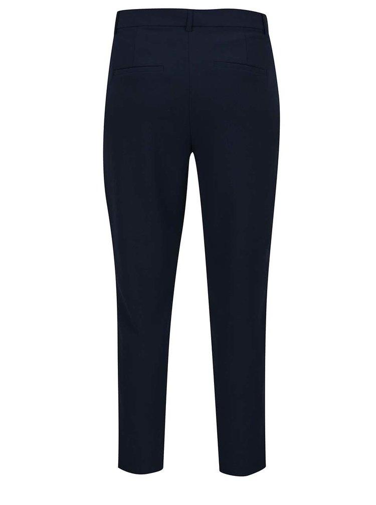 Tmavě modré kalhoty VILA Fera