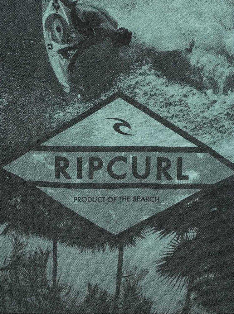 Tricou verde Rip Curl Surfers cu print grafic