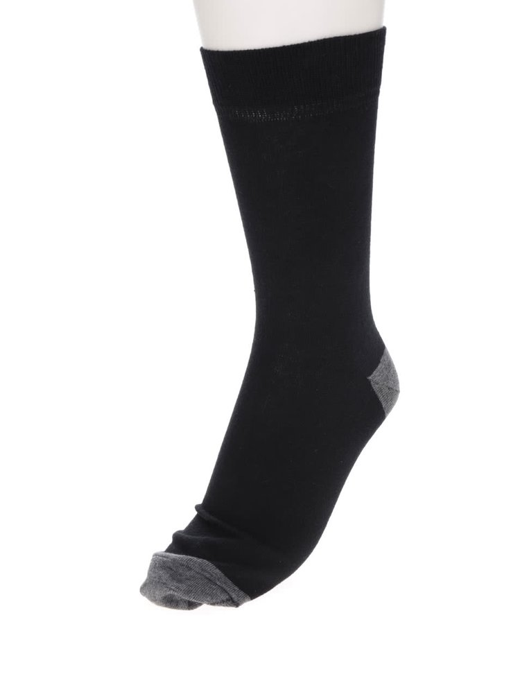 Set de 4 perechi de șosete negru & maro & gri Burton Menswear London