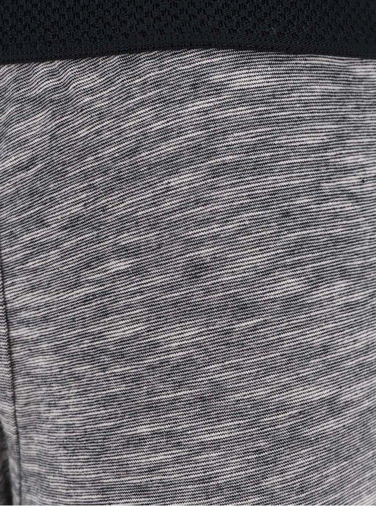 Sada tří boxerek v šedé a černé barvě Burton Menswear London