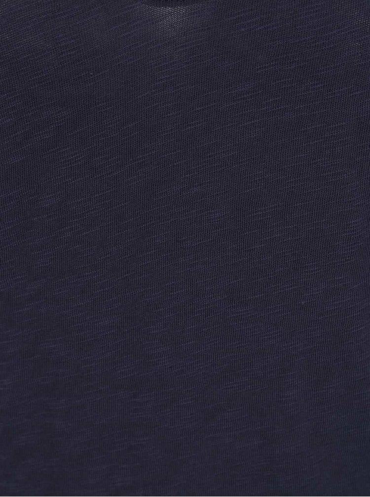 Tmavě modré basic tričko ONLY Casa