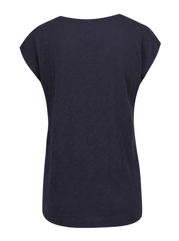 Tmavomodré basic tričko ONLY Casa