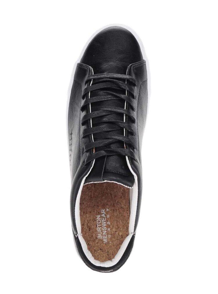Černé tenisky Burton Menswear London