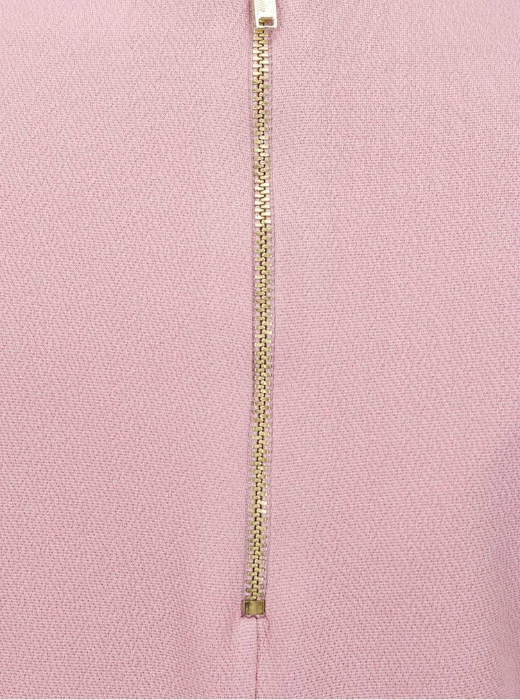 Rochie roz Miss Selfridge cu mâneci clopot