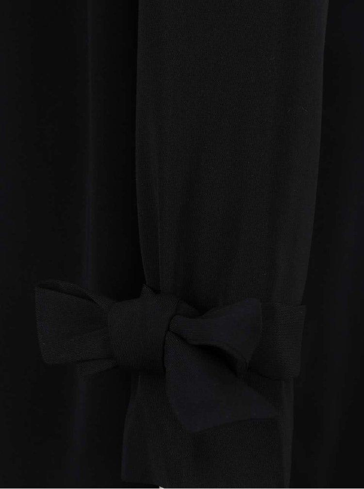 Černý lehký kabát Miss Selfridge