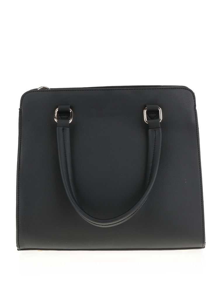 Béžovo-černá kabelka LYDC
