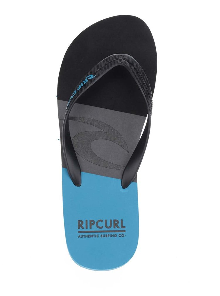 Șlapi negru&albastru Rip Curl Slide Out