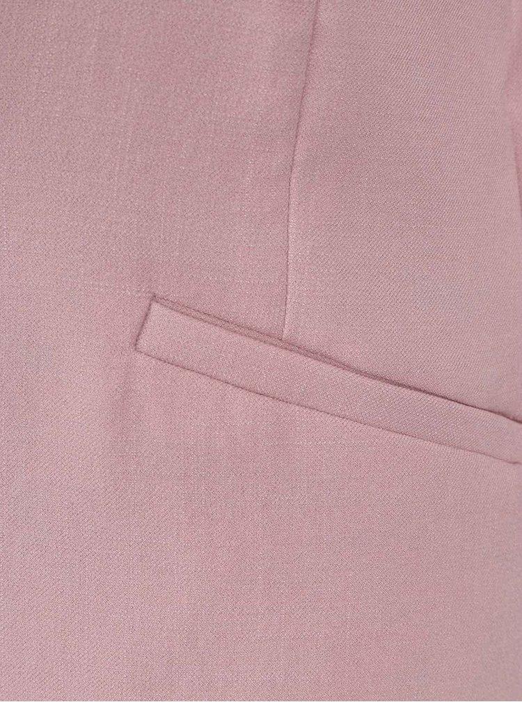 Růžové sako s 3/4 rukávem VILA Mela