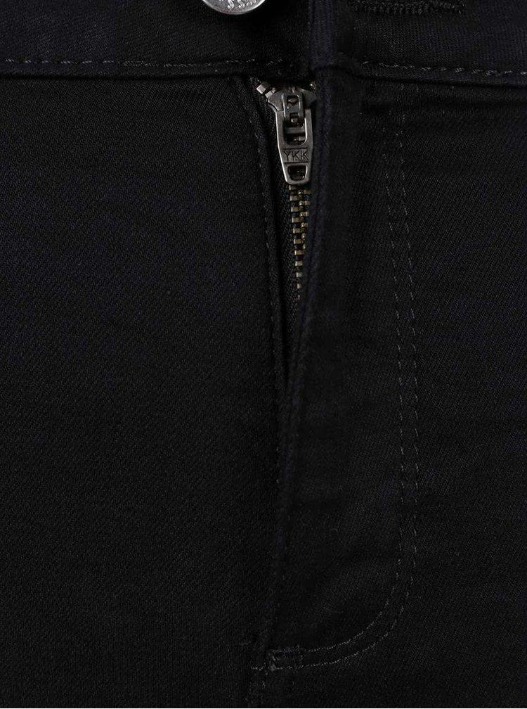 Černé džíny s potrhaným efektem Miss Selfridge