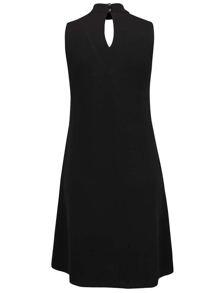 Černé volné šaty s průstřihy Dorothy Perkins