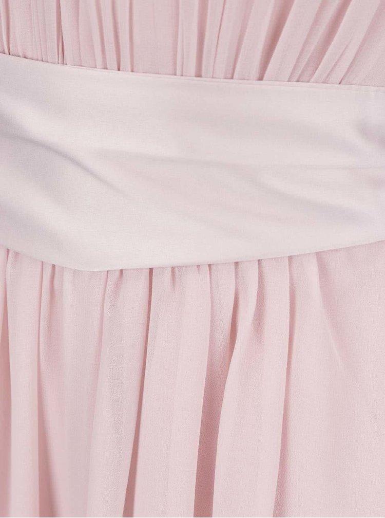 Rochie roz Dorothy Perkins cu panglică în talie