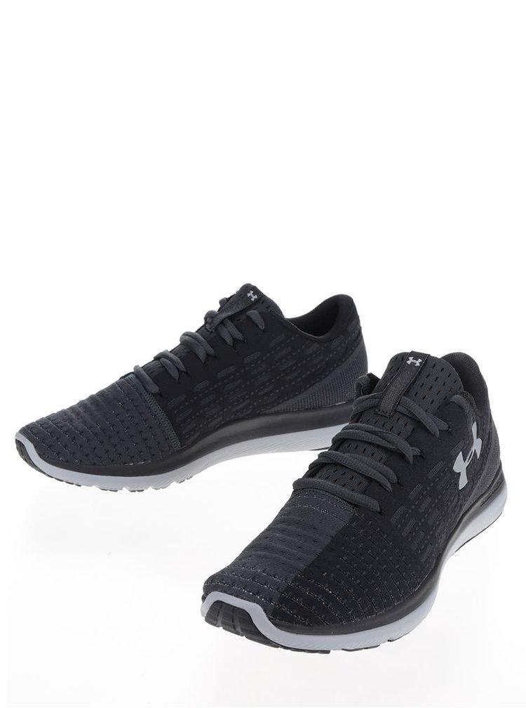Pantofi sport negri Under Armour UA Micro G Fuel RN pentru bărbați