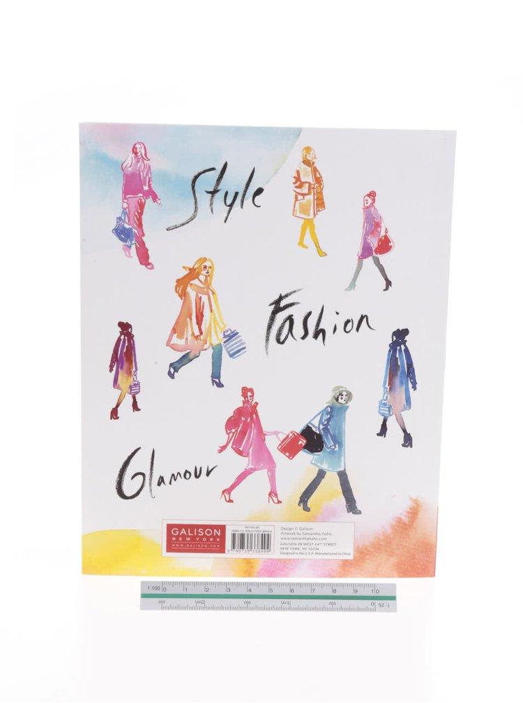 Agendă cu tematică fashion Galison