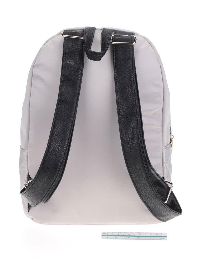 Světle šedý prošívaný batoh TALLY WEiJL