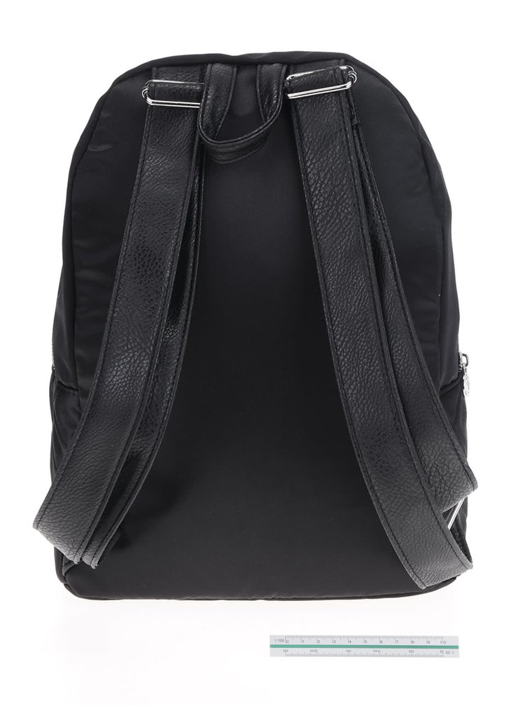 Černý prošívaný batoh TALLY WEiJL