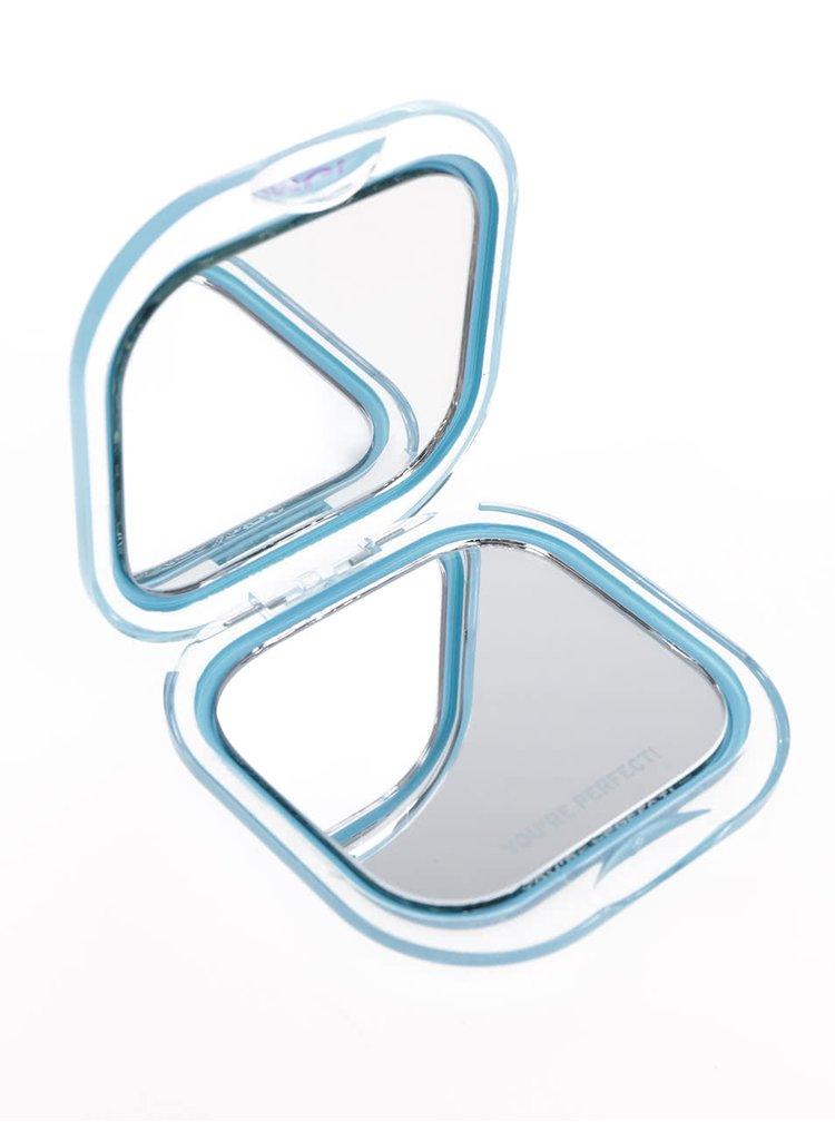 Oglindă de buzunar albastră Knock Knock