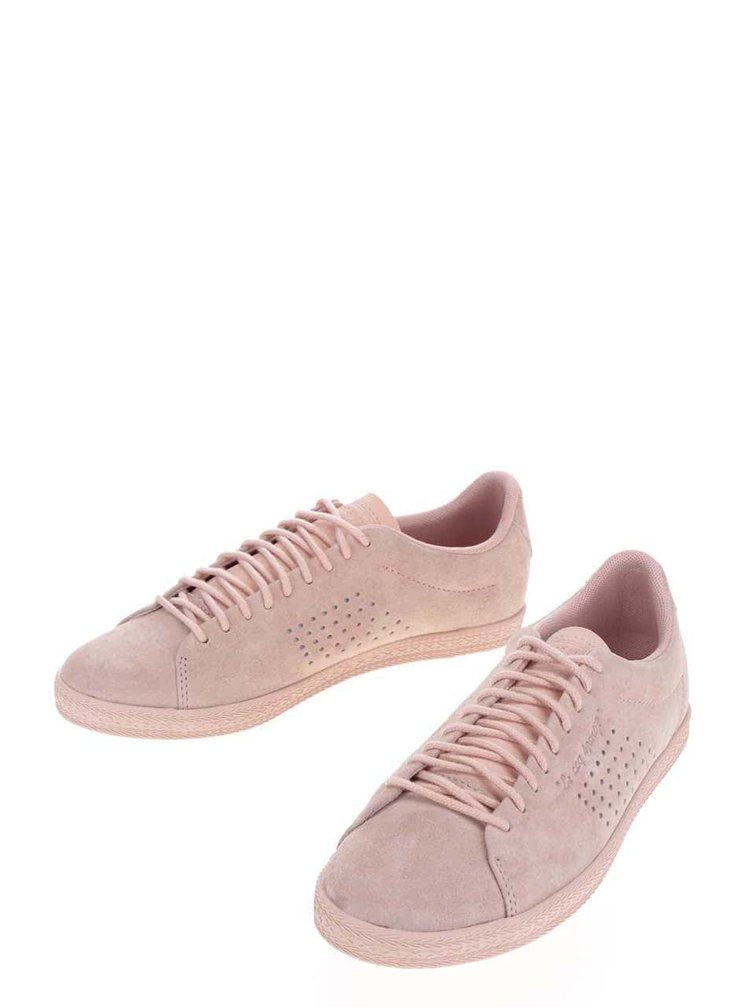 Pantofi sport roz prafuit Le Coq Sportif Charline