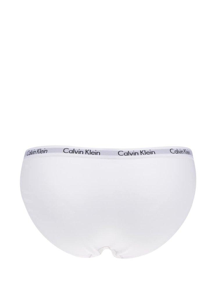Sada tří kalhotek v černé, bílé a šedé barvě Calvin Klein