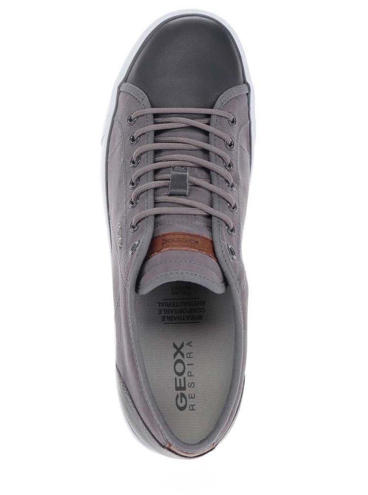 Tmavě šedé pánské tenisky Geox Smart C
