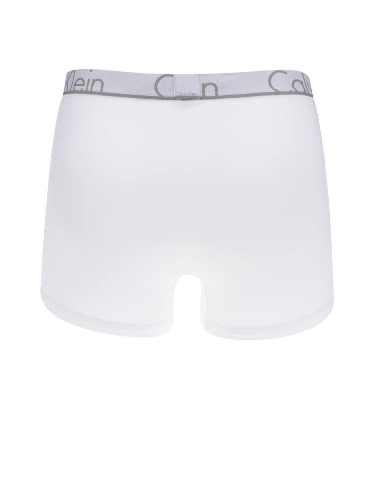 Bílé boxerky s logem Calvin Klein