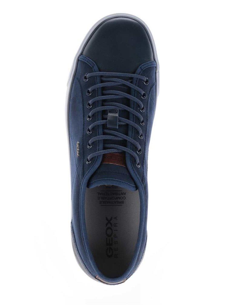 Teniși albastru închis Geox Smart C cu logo