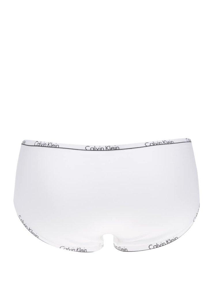 Biele nohavičky s logom Calvin Klein Underwear