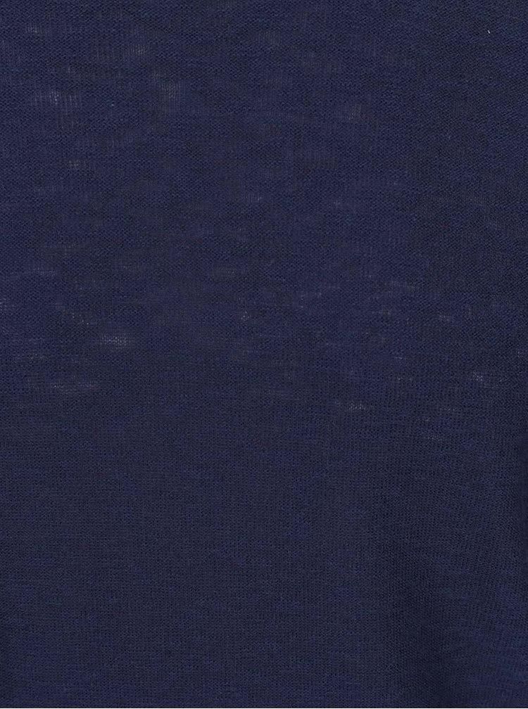 Pulover albastru melanj ONLY & SONS Paldin din bumbac