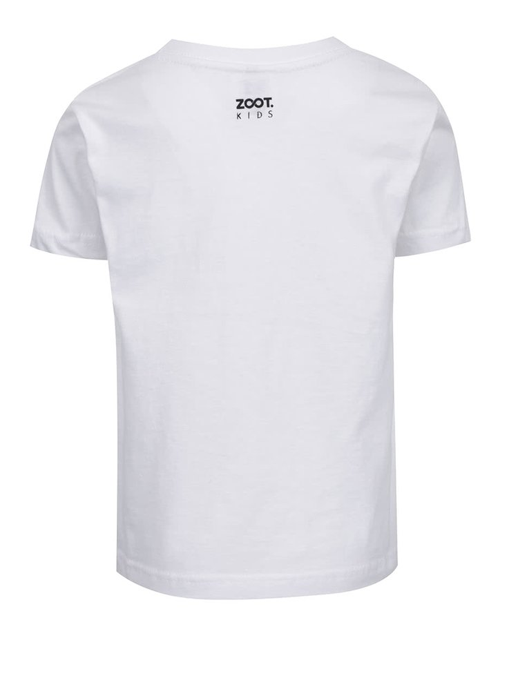 Bílé dětské tričko ZOOT Kids Nejsem žádná slečinka
