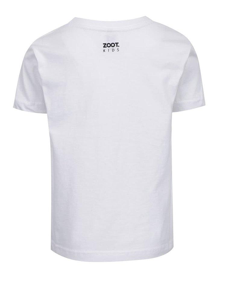 Bílé dětské tričko ZOOT Kids Nie som žiadna slečinka