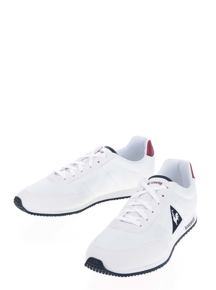 Pantofi sport alb&roșu Le Coq Sportif Racerone