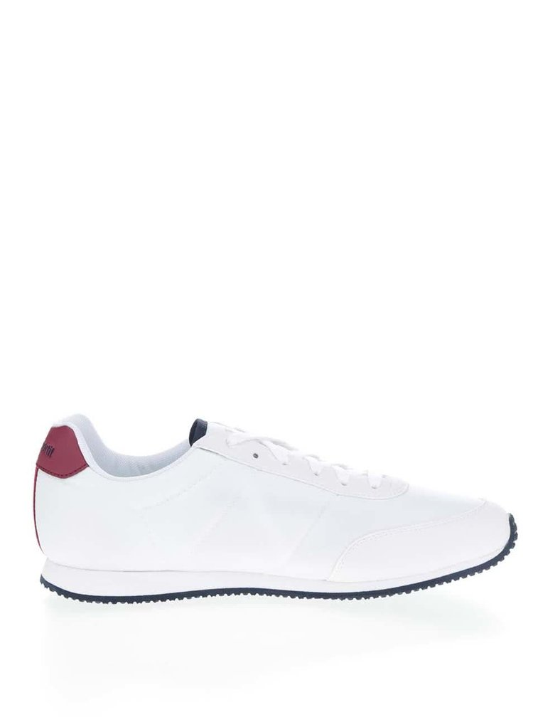 Červeno-bílé pánské tenisky s nápisem Le Coq Sportif  Racerone