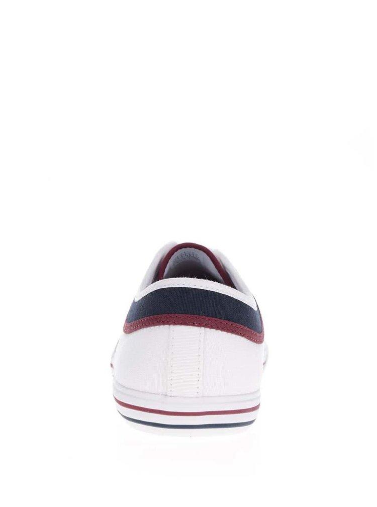 Bílé pánské tenisky se semišovými detaily Le Coq Sportif Saint Ferdinand