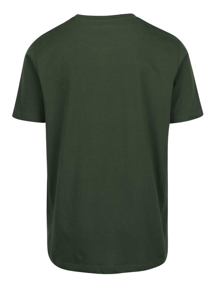 Set de 2 tricouri verde & albastru JP 1880 din bumbac cu print