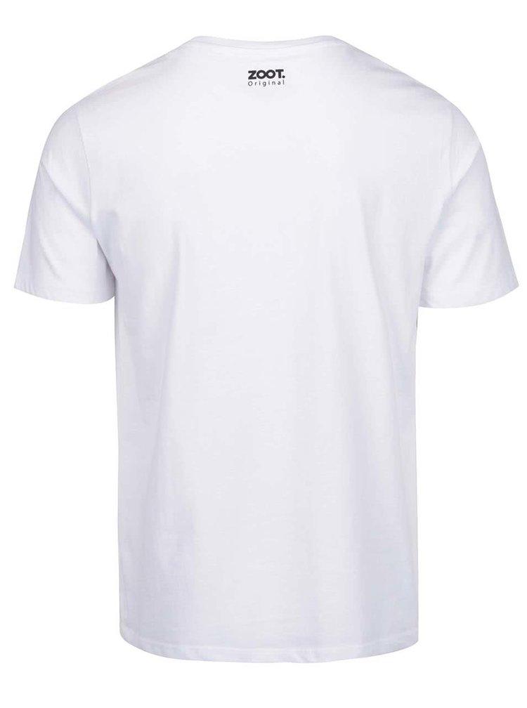 Bílé pánské tričko ZOOT Originál Děd vševěd