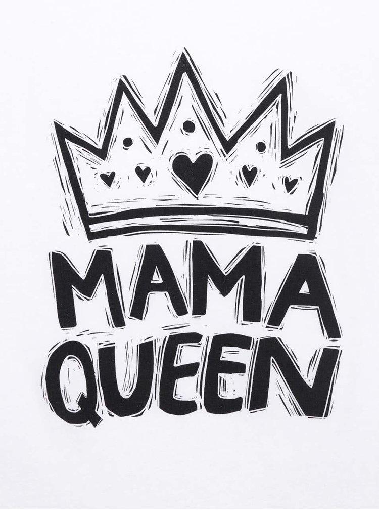 Bílé dámské tričko ZOOT Originál Mama queen