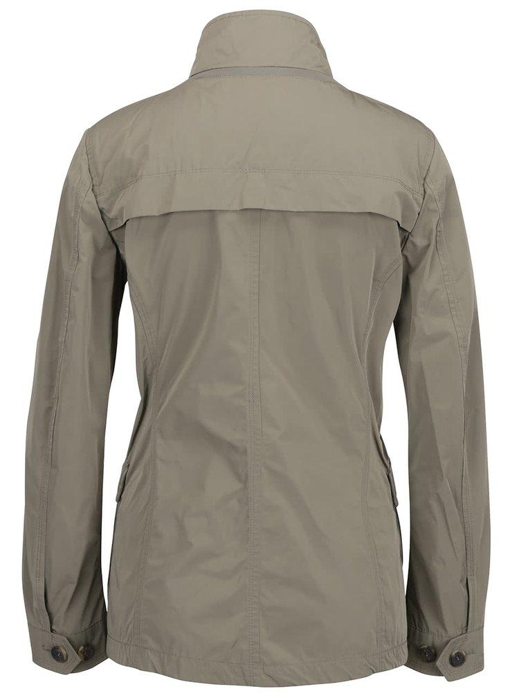 Khaki dámská bunda Geox