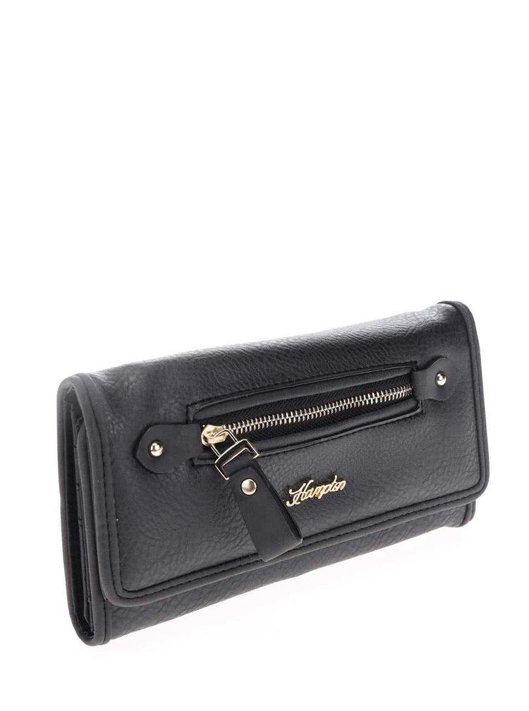 Černá peněženka Hampton Alice