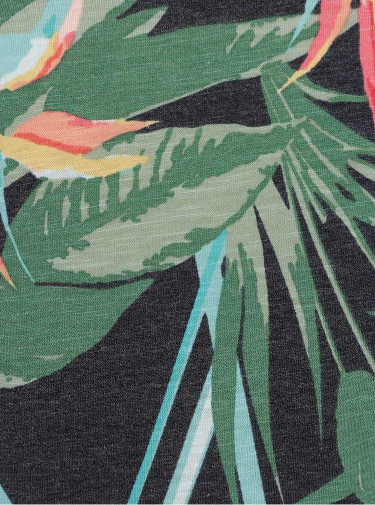 Tricou gri cu imprimeu ONLY Vega