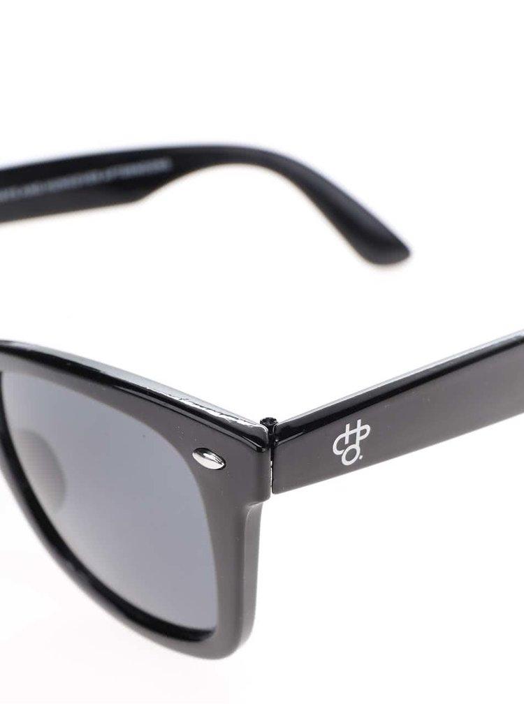 Černé unisex sluneční brýle CHPO Bodhi