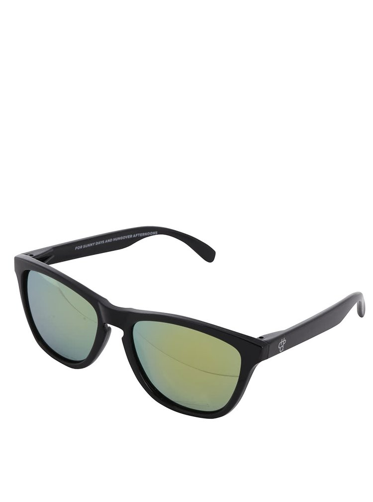 Černé unisex sluneční brýle CHPO Noway